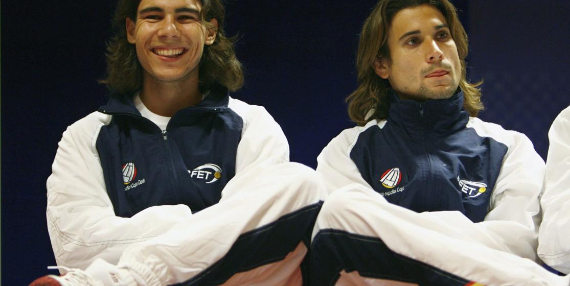 Top 20 Davis Cup by BNP Paribas players: Rafael Nadal (5th) and Yannick Noah (4th)