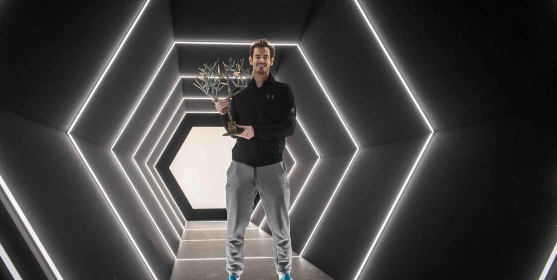 Andy Murray Numéro 1 hybride