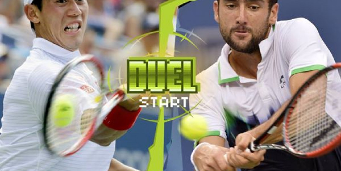 THE FIRST TIME - CILIC AND NISHIKORI AND THE US OPEN FINAL