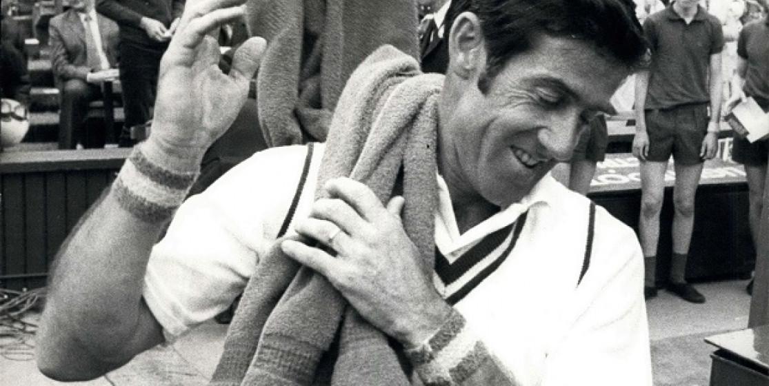 Ken Rosewall's last triumph