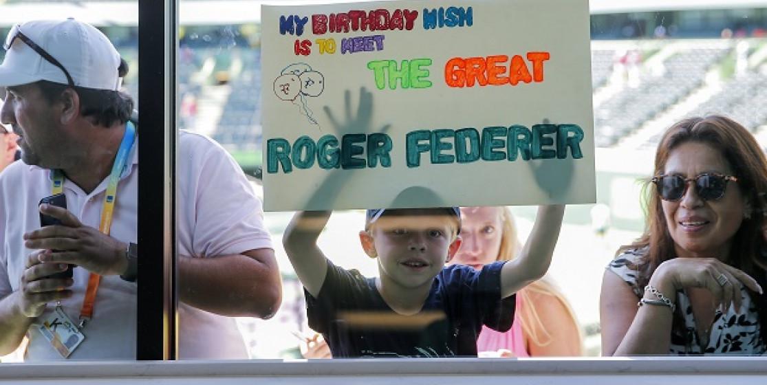 Trois fois Roger Federer