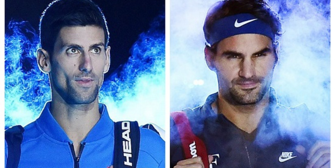 DJOKOVIC V FEDERER IN FINAL OF ATP WORLD TOUR FINALS
