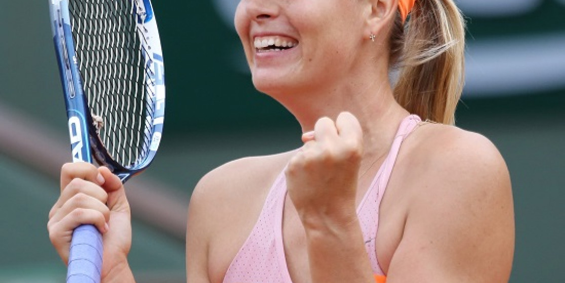 SHARAPOVA AND HALEP FIGHT FOR COUPE SUZANNE LENGLEN