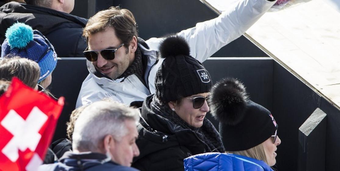 Roger Federer, the Snow King