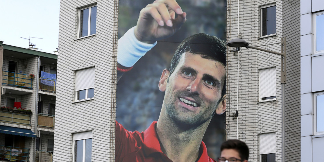 The tennis news (but not only) of the week: Djokovic in New-York, and a wedding at the border