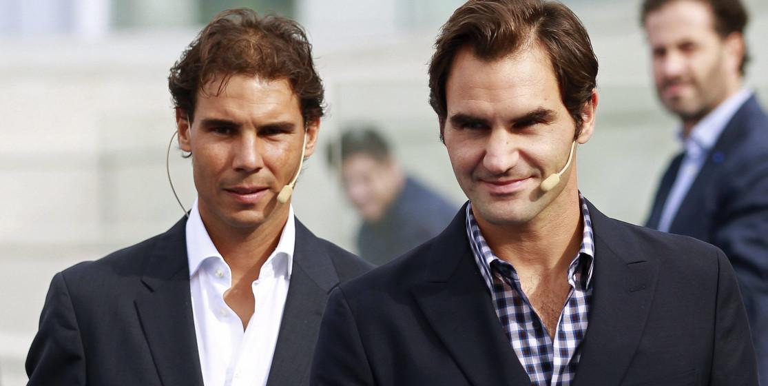 Welcome back Roger et Rafa