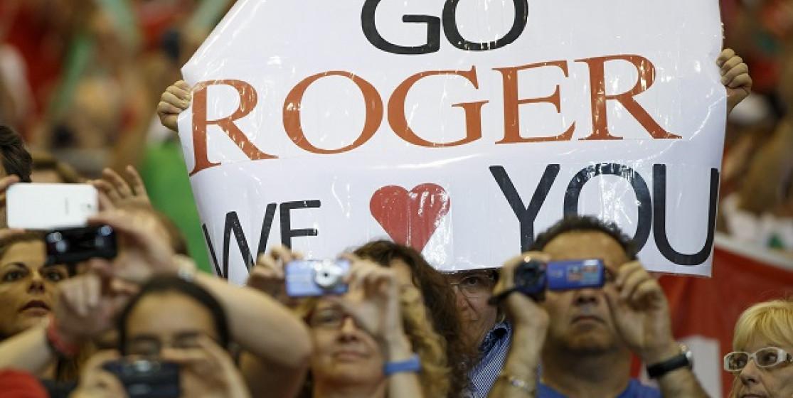 Federer, le maharadjah