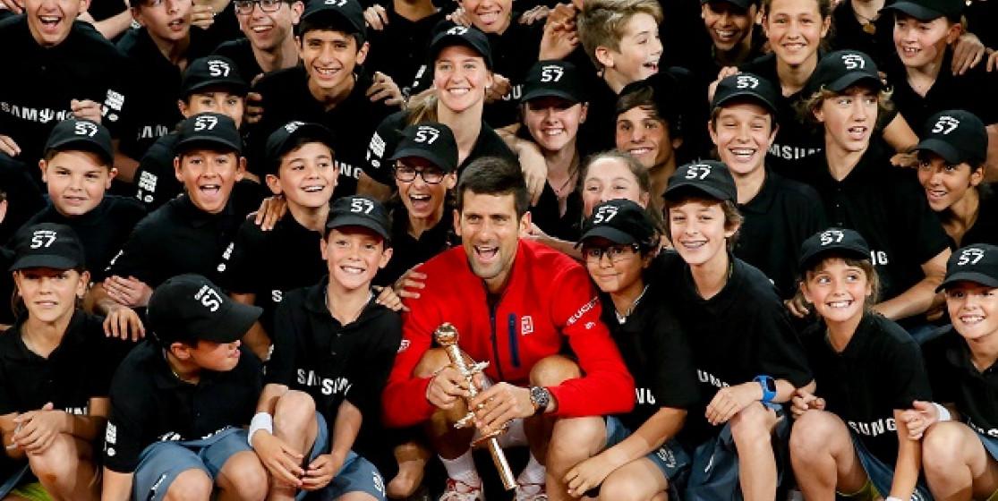Novak Djokovic en mode Ligue des Champions