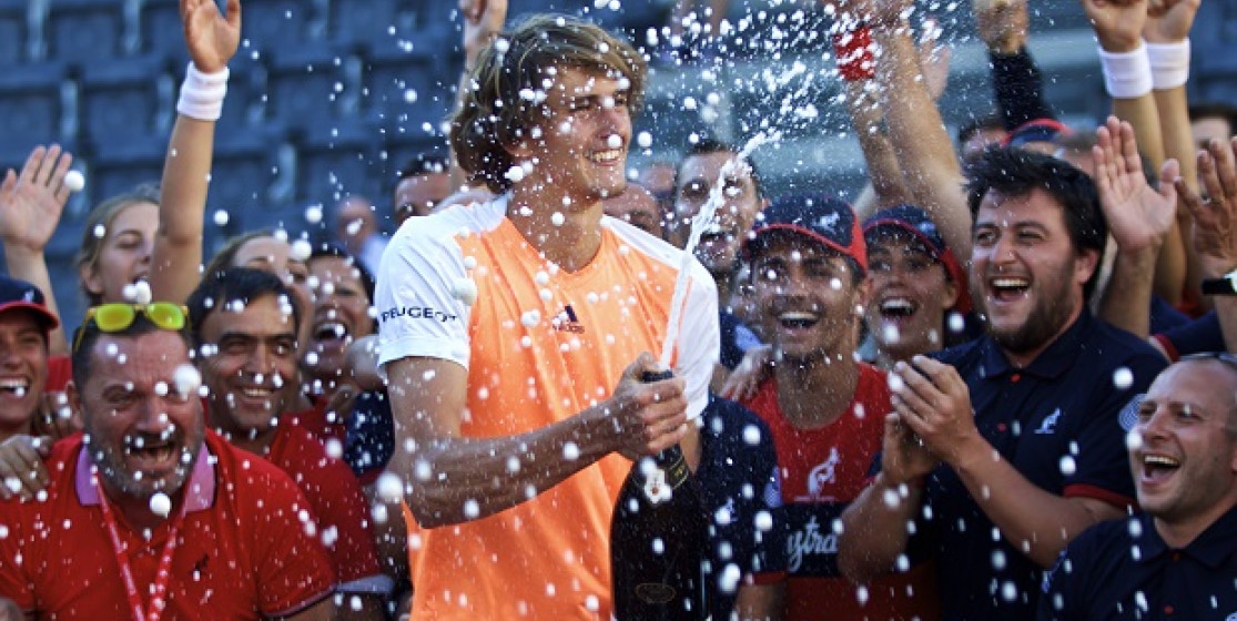 A Z that stands for Zverev