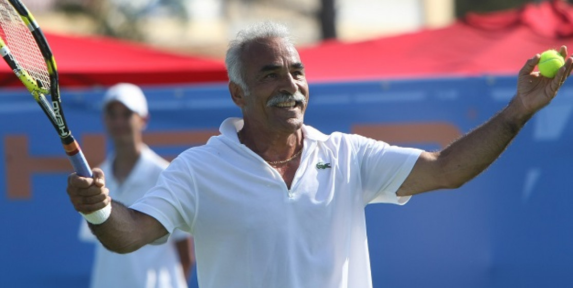 Top 5 of the best tennis players according to... Mansour Bahrami