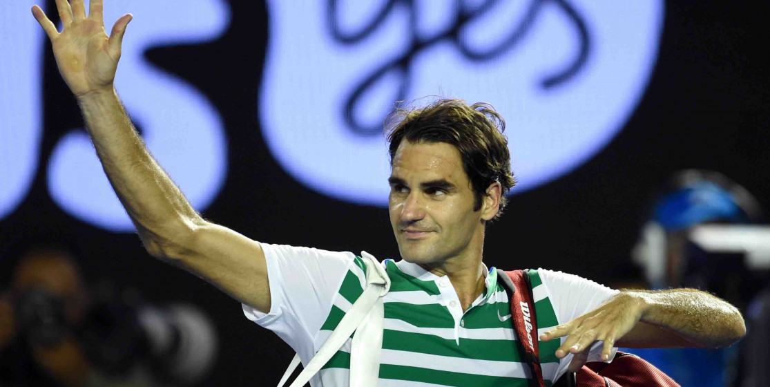 Roger Federer est huge !