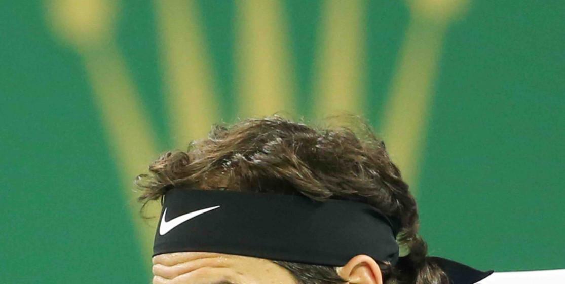 Le Roi Federer a taclé