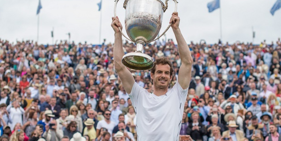 Andy Murray, champion of champions 2016 !