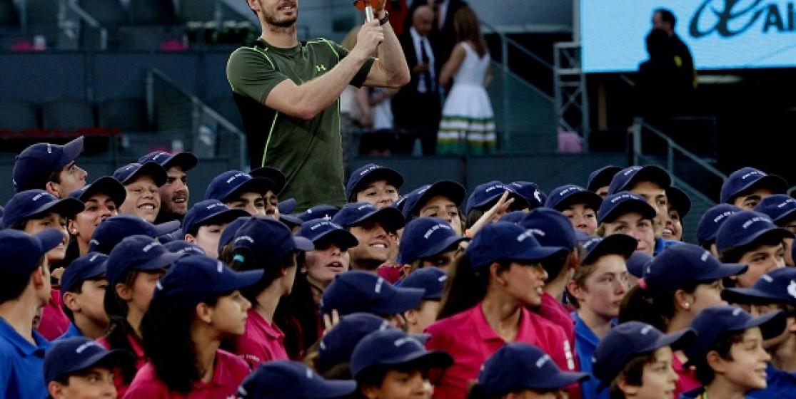 Andy Murray, un marié heureux