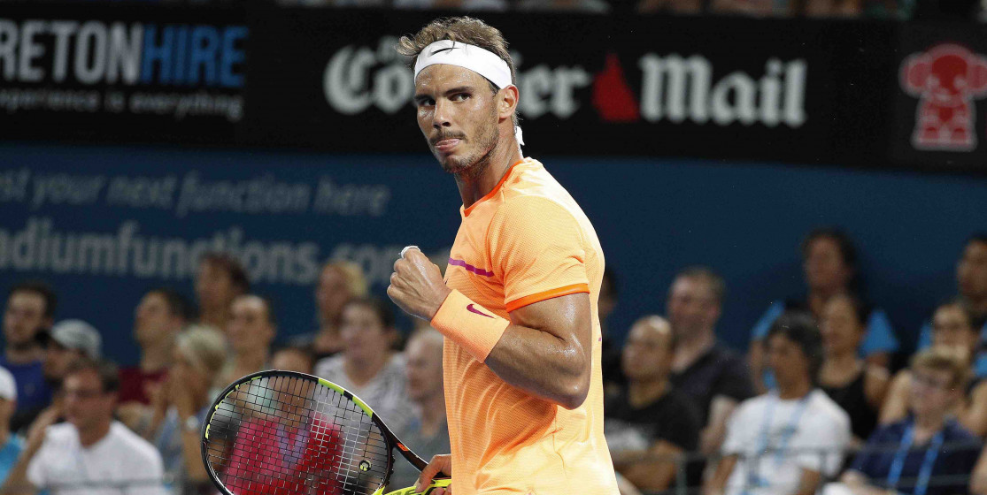 Rafael Nadal bien au rendez-vous !