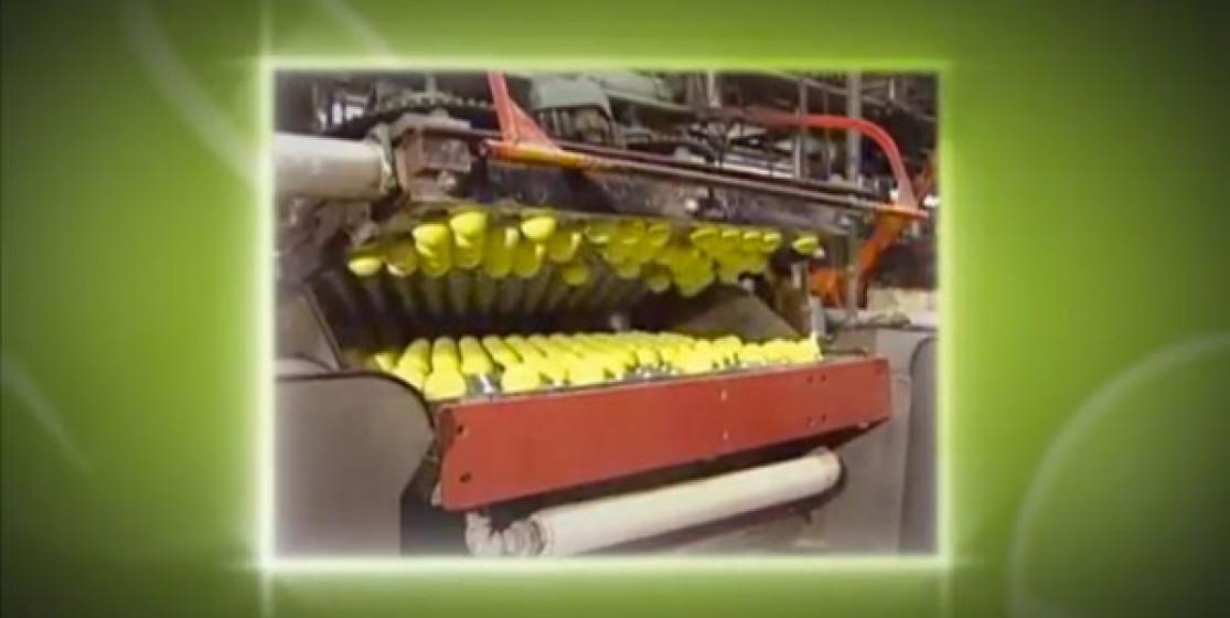 Recyclage de balles de tennis au BNP PARIBAS OPEN d'Indian Wells