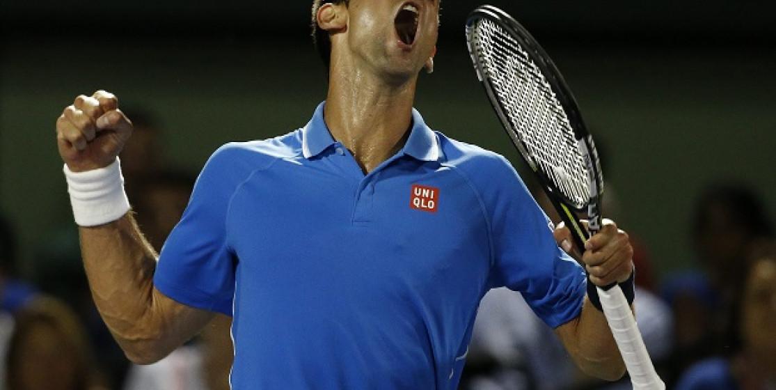 Djokovic, le triple double