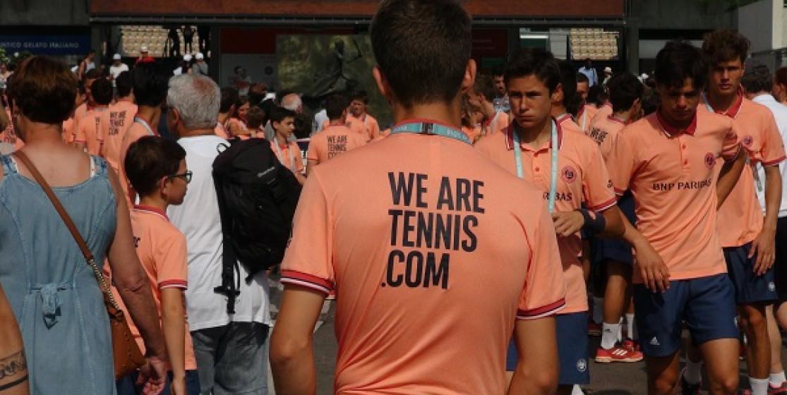THE WE ARE TENNIS BALLKIDS AT ROLAND GARROS