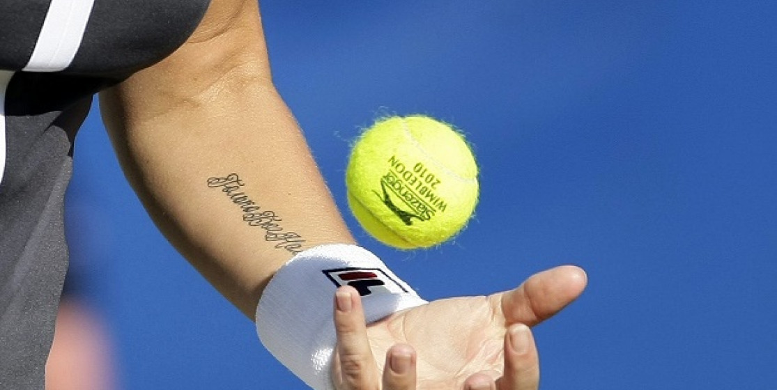 Top 10: tennis and tattoos