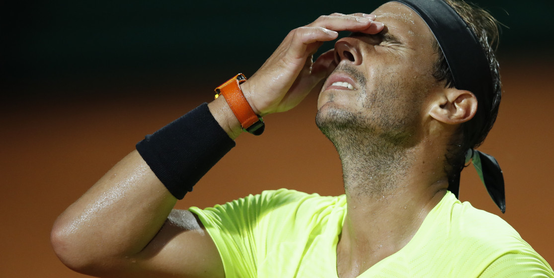 The tennis news (but not only) of the week: Nadal knocked down and anti-mask crisps