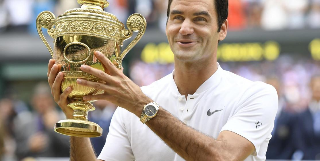 Roger Federer, a King's triumph