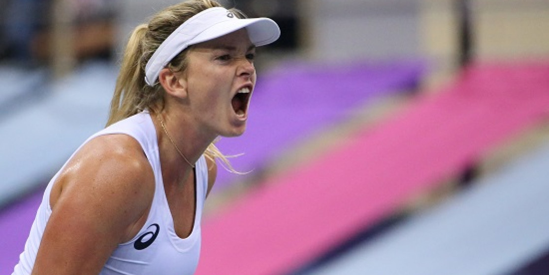 USA ENDS FED CUP DROUGHT AS COCO POPS IT