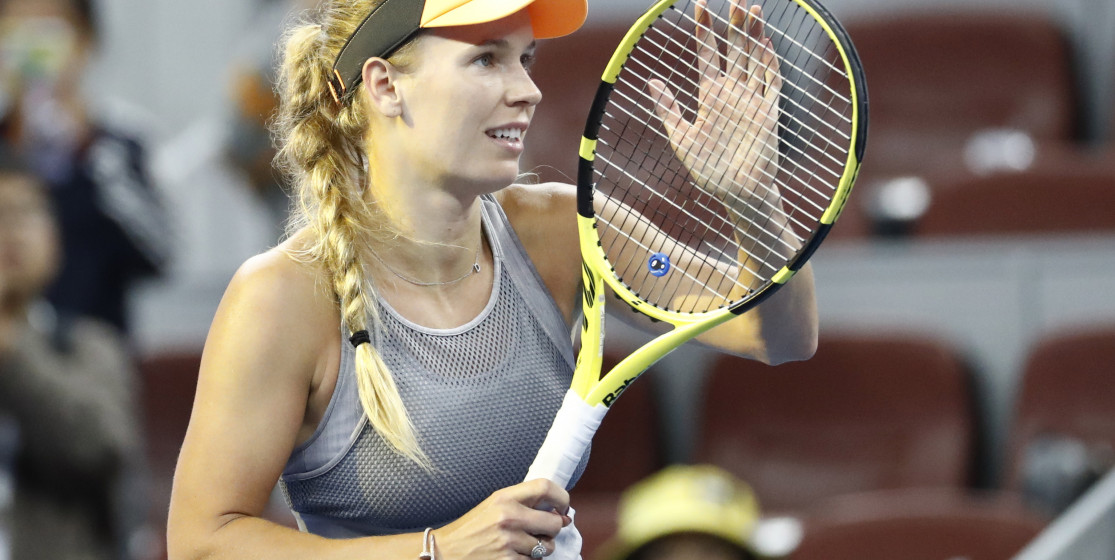 The tennis news (but not only) of the week:  Bye Wozniacki!