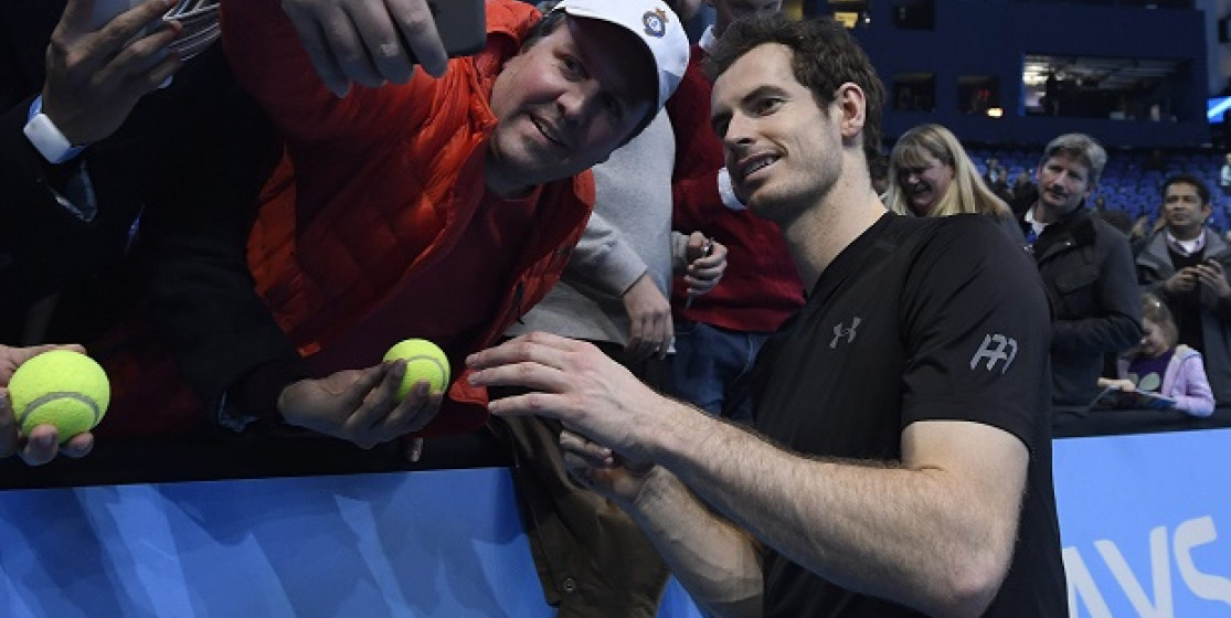 Who's the boss ? It's Andy Murray !