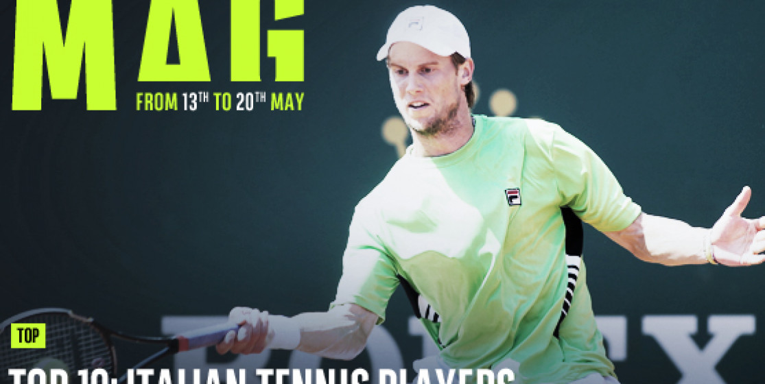 TOP 10: ITALIAN TENNIS PLAYERS