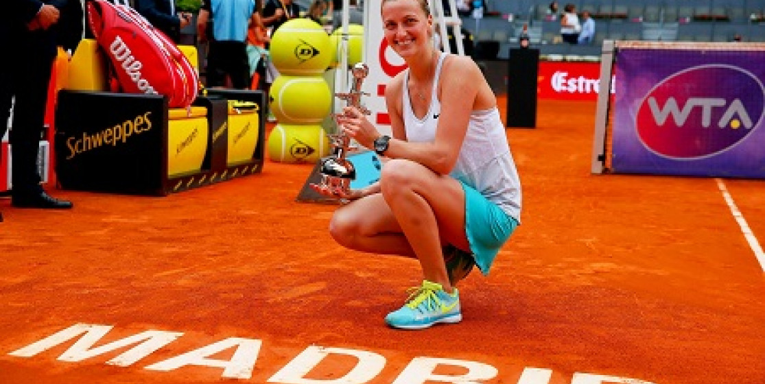 KVITOVA WINS MADRID - NADAL TO PLAY MURRAY IN MEN'S FINAL