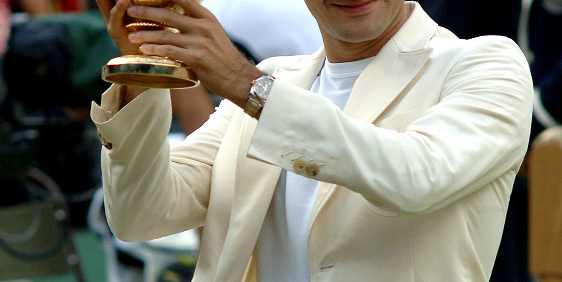 Top 10 : Federer at Wimbledon