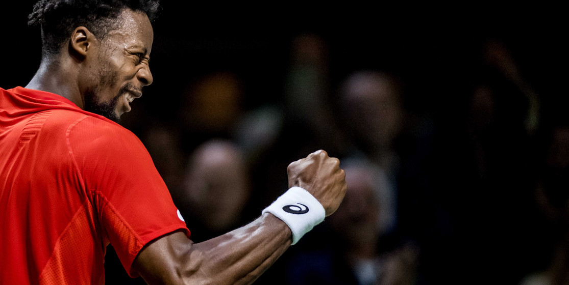 The tennis news (but not only) of the week: Monfils, a bear and and scoubidous