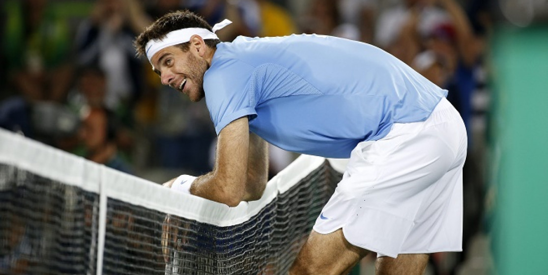At the Olympics, Del Potro lit up the crowd