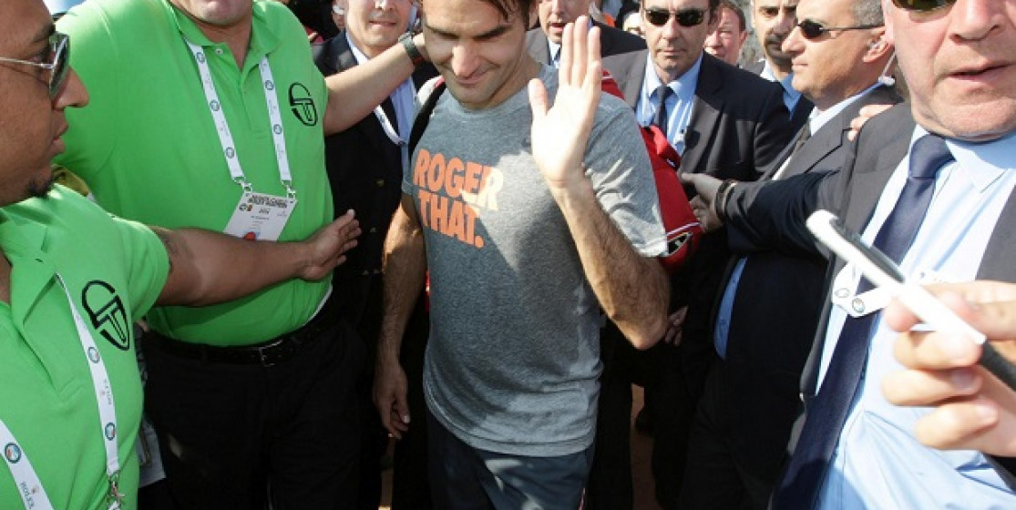Roger Federer Squared