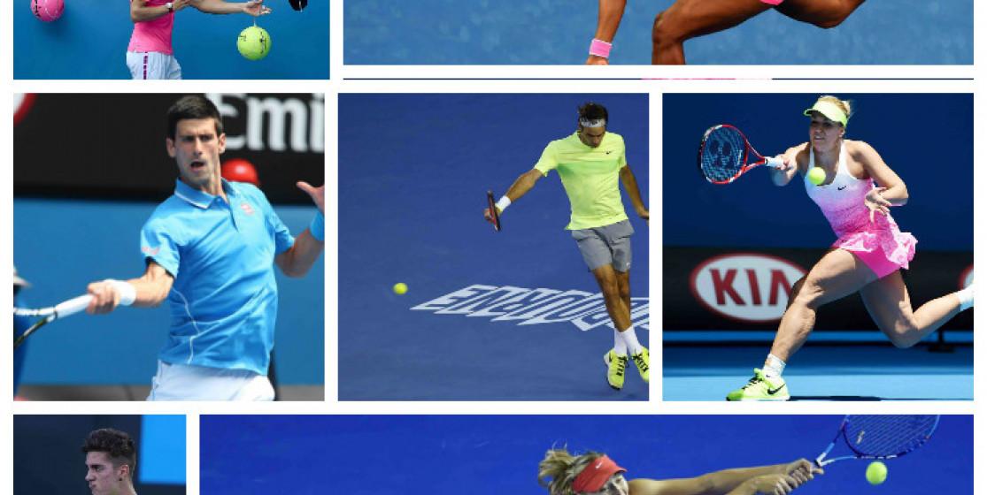Federer, Nadal, Williams, les autres et la mode