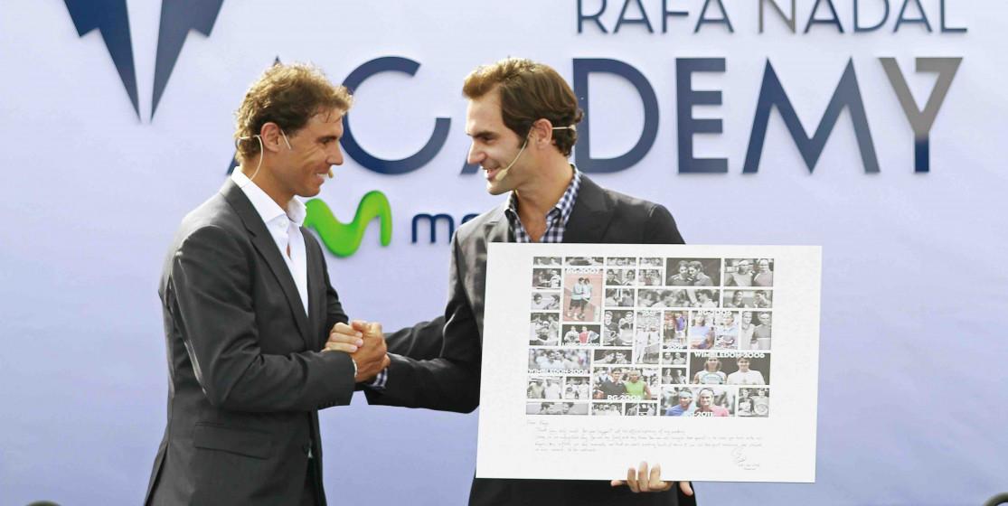 Rafa Nadal dit Stop !
