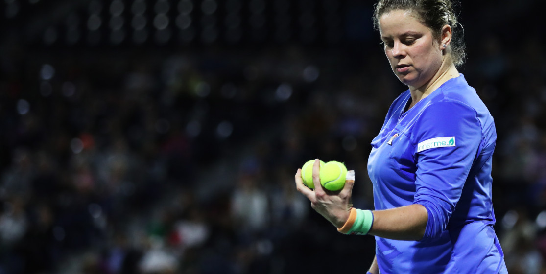 The tennis news (but not only) of the week: Clijsters resurrected and Banksy erased