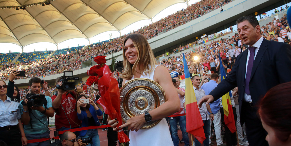 The tennis news (but not only) of the week: Halep and superstar snakes