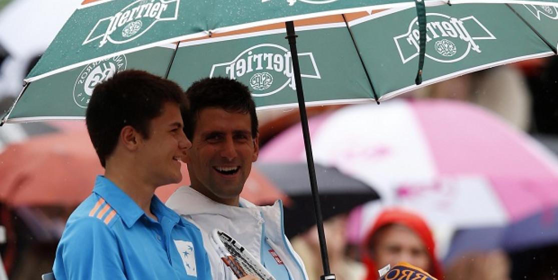 Djokovic is having a ball in Paris