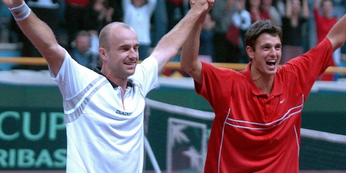 Le jour où… Ivan Ljubicic et Mario Ancic ont gagné la Coupe Davis par BNP Paribas à eux seuls