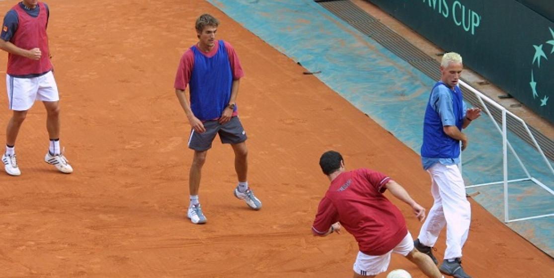 Le jour où le Central de Roland-Garros s'est transformé en terrain de foot…