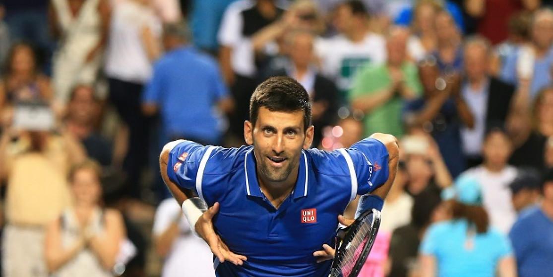 Avant Rio, Djokovic retrouve la banane
