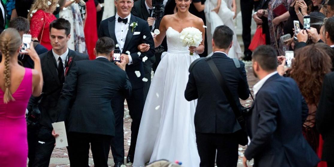 Ana Ivanovic kicks off the wedding season
