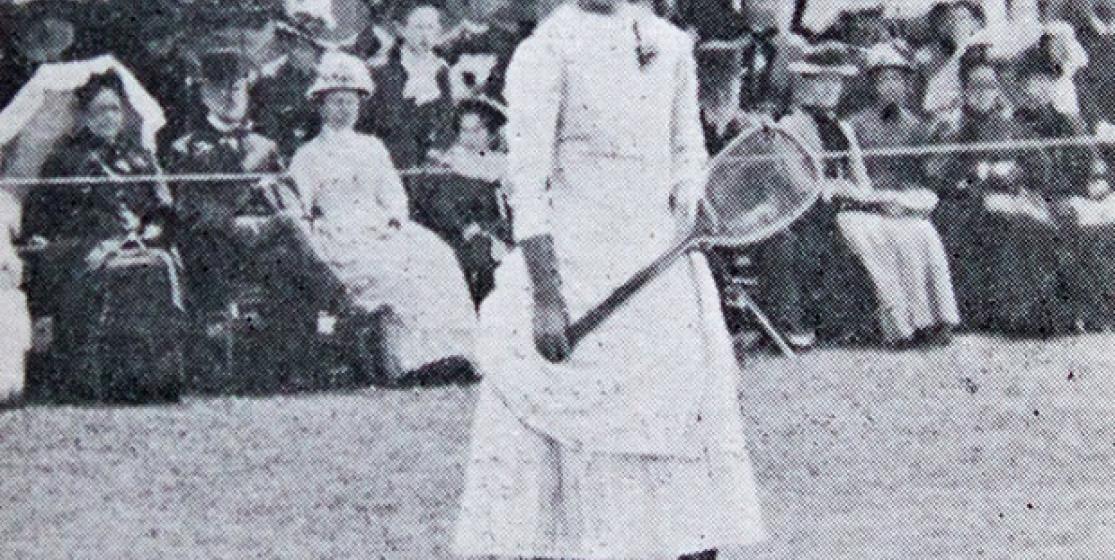 Lottie Dod, 15, Wimbledon champion