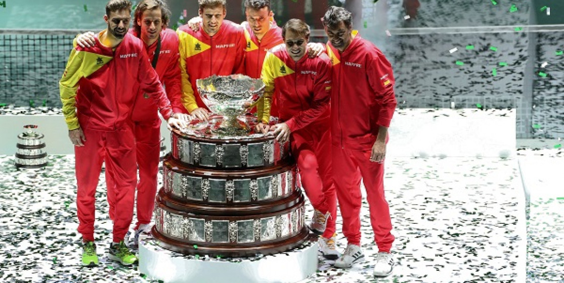 SPAIN WIN 6TH DAVIS CUP TITLE