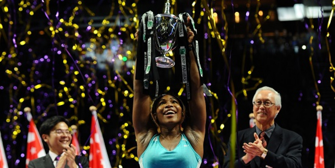 SERENA ROARS LOUDEST IN LION CITY - WINS BNP PARIBAS WTA FINALS