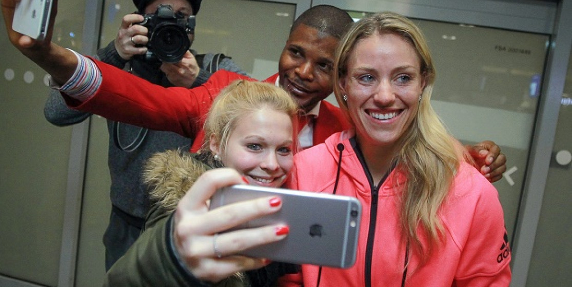 5 things we've learned from Angelique Kerber's Twitter account