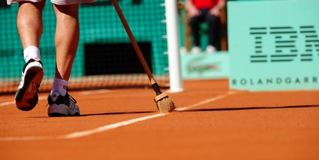 CLAY MODEL - THE COURTS OF ROLAND GARROS
