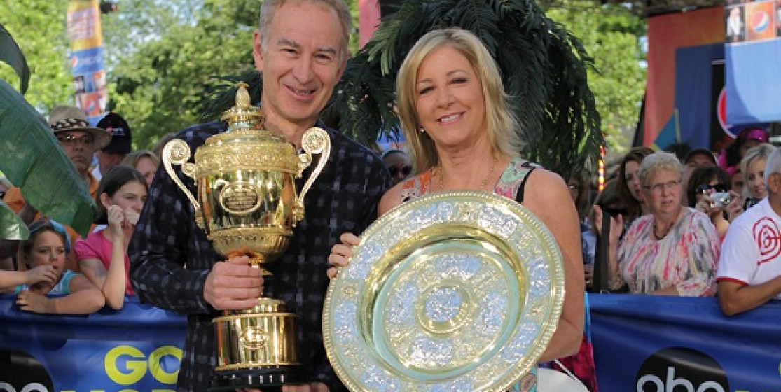 WIMBLEDON PICKS FROM CHRIS EVERT AND JOHN MCENROE