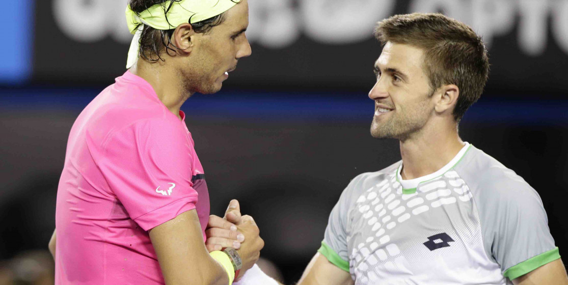 Smyczek plus fair play que Nadal